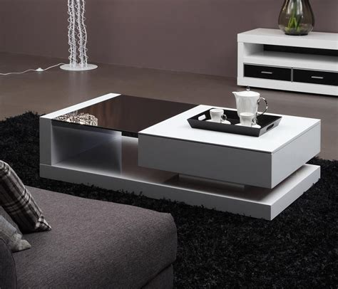 top ten modern center table modern tempered glass high glossy mdf coffee table 001