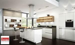 Küche U Form Mit Theke : helle k che mit theke ~ Indierocktalk.com Haus und Dekorationen