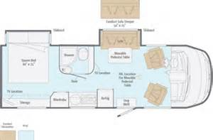 Itasca Class C Rv Floor Plans by Sprinter Class A 2013 Itasca Reyo 25q 25 5 Quot By Winnebago