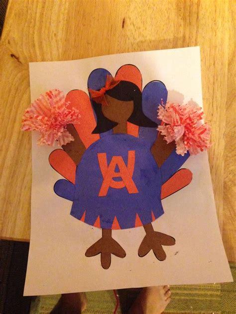 turkey disguise project   cheerleader turkey