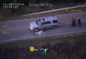 Terence Crutcher Shooting: 'Disturbing' Helicopter Footage ...