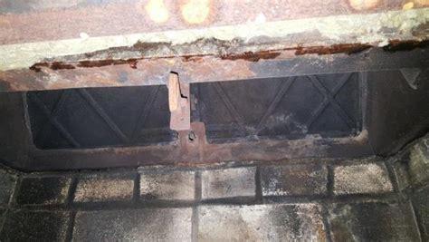 Water Leak Inside Fireplace