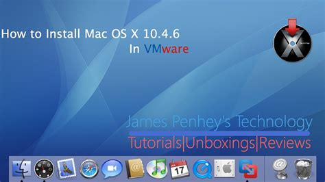How To Install Mac Os X 104 Tiger  Youtube