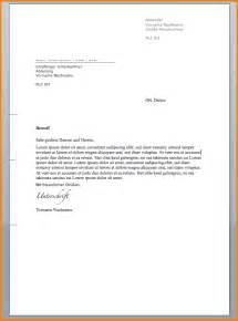 Formeller Brief Vorlage Reimbursement Format