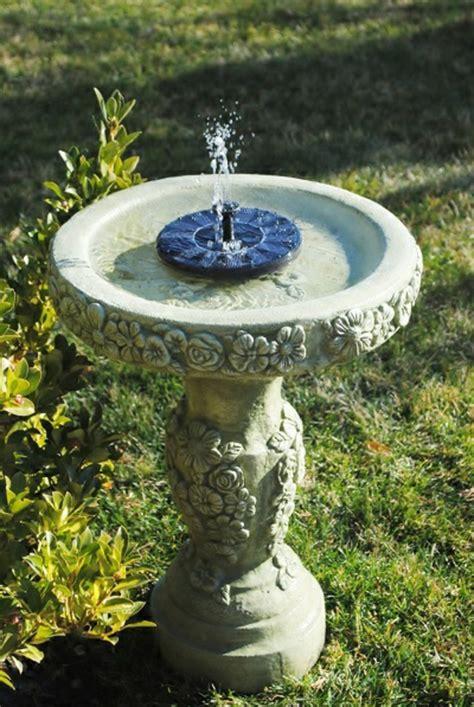 Solar Springbrunnen Für Den Garten Archzinenet