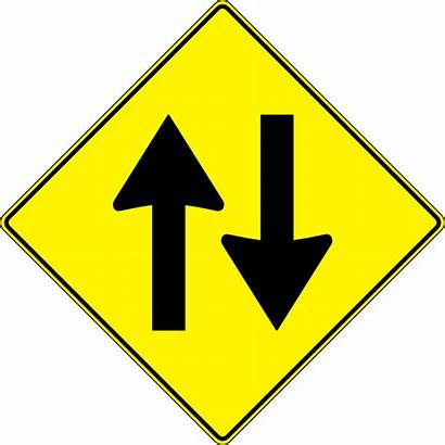 Sign Road Traffic Way Yellow Clip Clipart