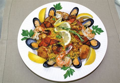haute cuisine a magical paella business jet traveler