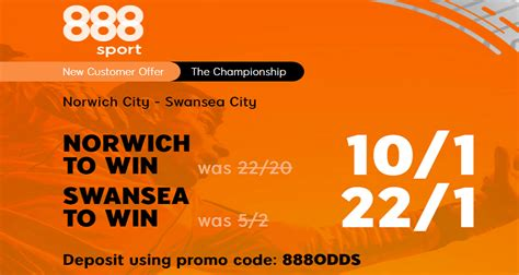 Norwich City v Swansea City Price Boost: Get 10/1 Canaries ...