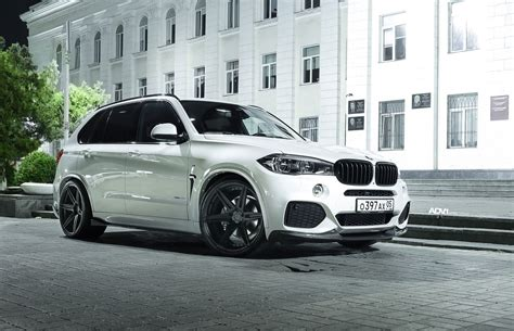 Alpine White Bmw X5 M Upgraded With Adv6 M.v2 Concave