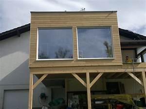 Extension Ossature Bois : maison en ossature bois sur pilotis avec bardage sur l ~ Melissatoandfro.com Idées de Décoration