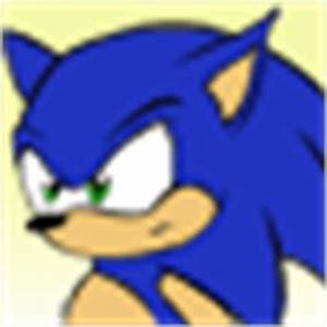 Sonic icon 50x50 by Amandaxter on deviantART