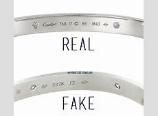 How to Spot a Fake New Model Love Bangle Models, Cartier
