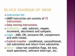 Ppt - Introduction To Motorola 6800 Powerpoint Presentation  Free Download