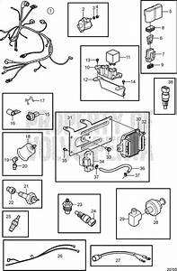 Volvo Penta Exploded View    Schematic Engine Harness And