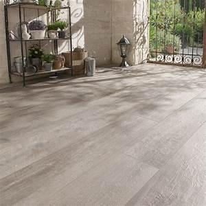 Carrelage Immitation Bois : carrelage sol gris effet bois heritage x cm leroy merlin ~ Nature-et-papiers.com Idées de Décoration