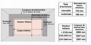 Dimension Porte De Garage Sectionnelle : porte sectionnelle cassette motoris e sur mesure prix bas ~ Edinachiropracticcenter.com Idées de Décoration