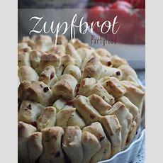 Zupfbrot Mit Drei Ideen Für Füllungen  Partyfood Und Snacks