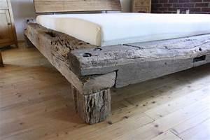 Bett Aus Alten Balken : bett aus alten eichebalken historisches fachwerk betten bett und dawanda ~ Bigdaddyawards.com Haus und Dekorationen
