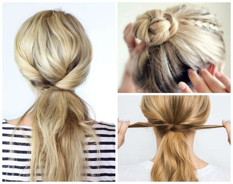 easy  minute hairstyles   crazy busy