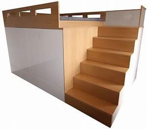 Hochbett Mit Babybett : die besten 25 hochbett doppelbett ideen auf pinterest etagenbett mit treppe babybett mit ~ Orissabook.com Haus und Dekorationen
