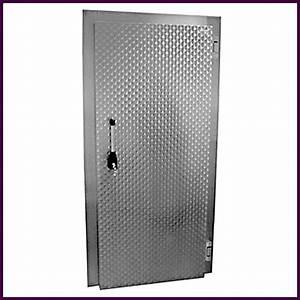 Serrure De Porte De Chambre : porte de chambre froide en aluminium galvanis ~ Premium-room.com Idées de Décoration