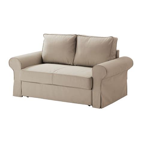 pull out sofa bed ikea backabro marieby two seat sofa bed ramna beige ikea