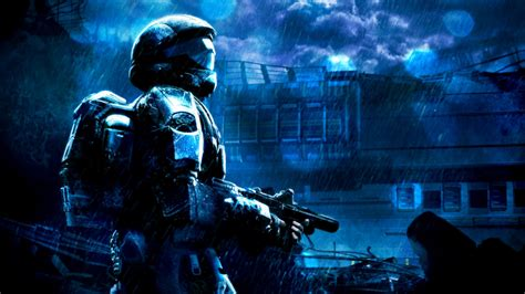 Halo Background Odst Hd Hd Wallpaper And Background Image