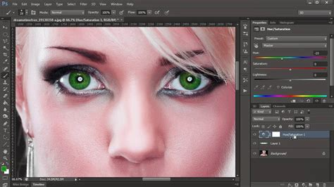 how to color change eye color easily in photoshop cs6