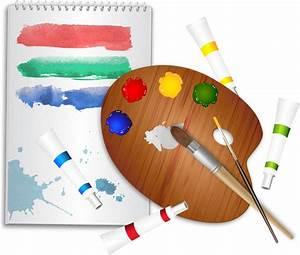 Drawing Tools Cartoon Free Vector Download  100 740 Free