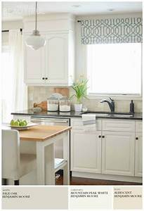 1000 images about kitchen it on pinterest black granite for Kitchen colors with white cabinets with triptych wall art canvas