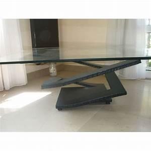 table verre roche bobois With meubles de salon roche bobois 6 table basse octet roche bobois