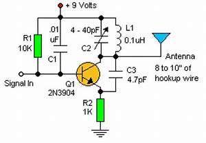 9 volt fm transmitter circuit circuit diagram images With 3v fm transmitter circuit