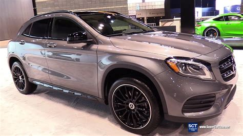 Request a dealer quote or view used cars at msn autos. 2018 Mercedes Benz GLA Class GLA 250 4Matic - Exterior Interior Walkaround - 2018 Chicago Auto ...
