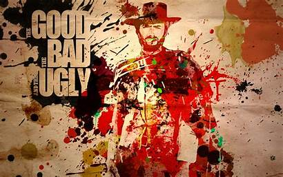 Eastwood Clint Ugly Bad Wallpapers Film Background