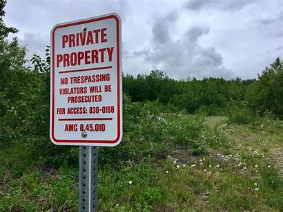 Property Sign Homeless Private Define Star Local