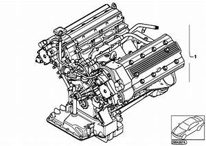 Original Parts For E39 M5 S62 Sedan    Engine   Short Engine