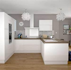 Cuisine Bois Et Blanc : cuisine ikea blanc collection avec cuisine ikea blanche et ~ Dailycaller-alerts.com Idées de Décoration