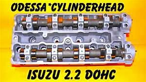 Isuzu Amigo Rodeo 2 2 Dohc Cylinder Head Rebuilt 98