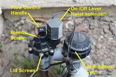 anti siphon faucet leak anti siphon valve controls