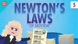 Newton U0026 39 S Laws  Crash Course Physics  5