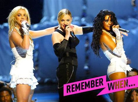 remember whenbritney spears  madonna