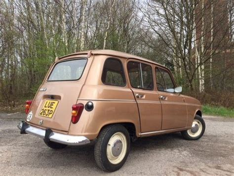Renault 4 For Sale by For Sale 1975 Renault 4 Tl As Featured In Classics