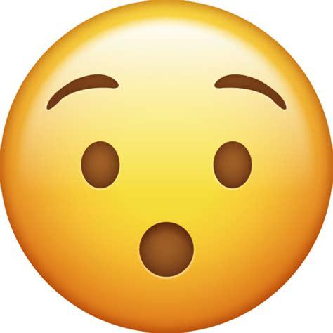 foto de Surprised Emoji Free Download IOS Emojis Emoji Island