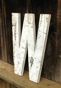 Distressed wood letters just stuff i love pinterest for Distressed wood letters