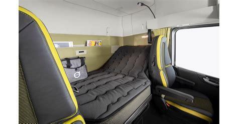volvo unveils super sized xxl sleeper cab news