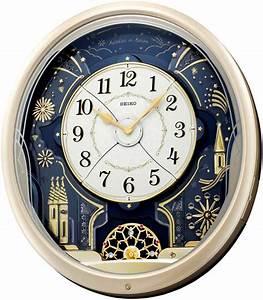 Kaliedoscope Musical Wall Clock By Seiko Seiko Wall Clocks
