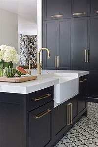 Black, U0026, Brass, -, Exquisite, Kitchen, Design