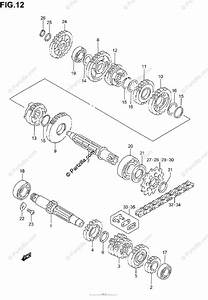 Suzuki Motorcycle 2006 Oem Parts Diagram For Transmission