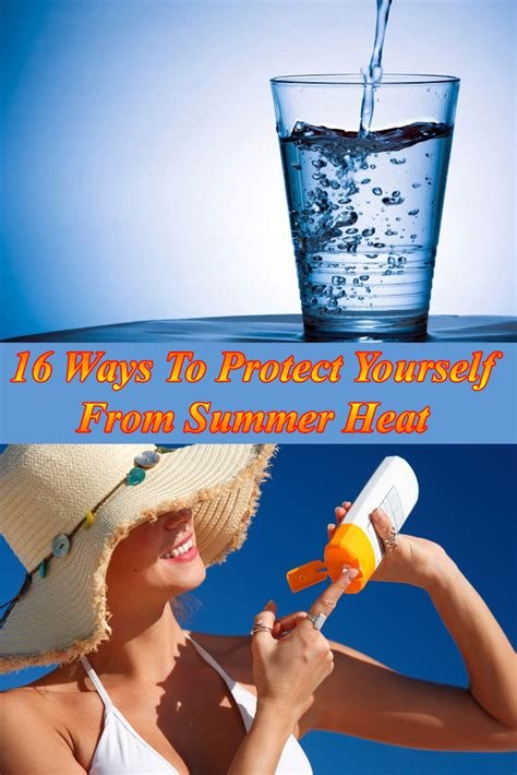 How To Protect Yourself From Summer Heat
