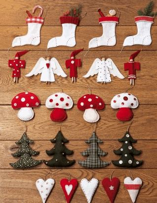 deco noel a faire soi meme facile decoration de noel a coudre